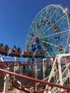 Ferris wheel in NYC.