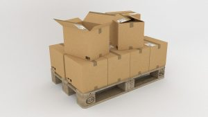 A pile of cardboard boxes one can use when packing for interstate relocation