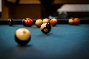 disassemble a pool table