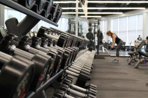 A regular gym. A tip for New Yorkers who are moving to Miami: everyone goes to the gym in Miami.