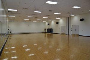 A dance studio.